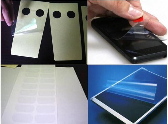 Die Cutting Metallized PET Film Surface Protection Size Customized For LED Screen