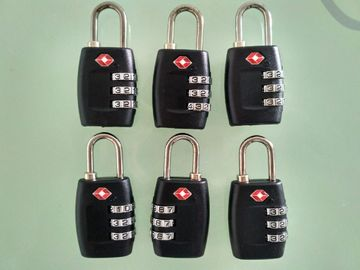 PC / ABS Material TSA Approved Travel Locks 32.5g TSA 335 With 3 Dials