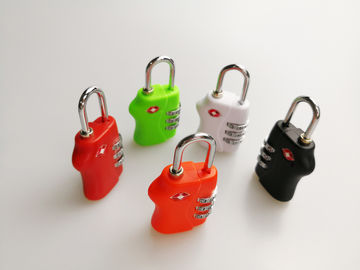 Logo Printed TSA Travel Locks / 3 Digit Combination Lock Free Sample