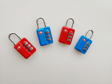 Professional TSA Accepted Luggage Locks  64.9g Colorful For Luggage Bag